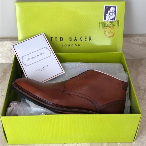 Ted Baker Mens Azzlan Chukka Boots Nib